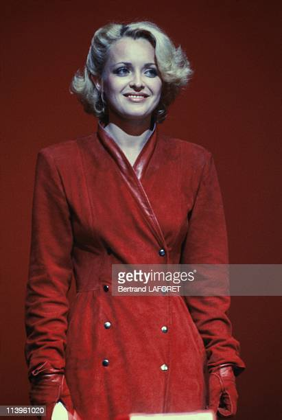 Cannes Film Festival In Cannes France On May 10 1983 French actress Fanny Cottencon at Cannes Film Festival May 19 1983