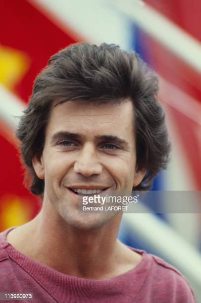 Cannes Film Festival In Cannes France On May 10 1983American actor Mel Gibson at Cannes Film Festival May 14 1983