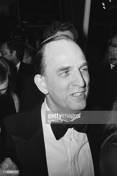 Cannes Film Festival in Cannes France On May 18 1973Film director Ingmar Bergman