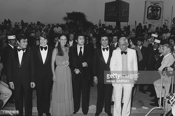 Cannes Film Festival in Cannes France on May 19 1974 Claude Lelouch's film Toute une vie with Charles Denner Andre Dussolier Marthe Keller Claude...