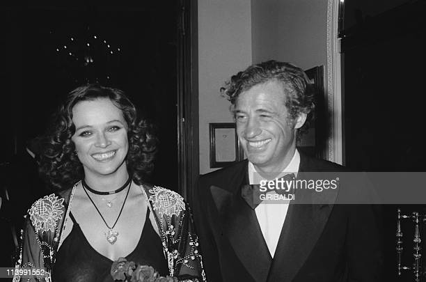 Cannes Film Festival In Cannes France On May 19 1974Laura Antonelli and JeanPaul Belmondo