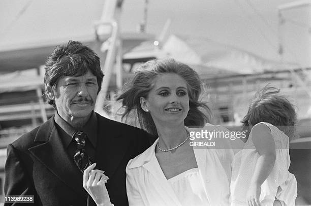 Cannes Film Festival In Cannes France On May 26 1973Charles Bronson his wife Jill Ireland and their daughter Zuleika