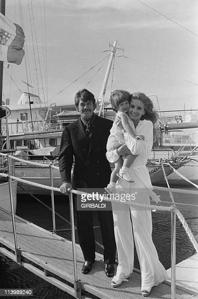 Cannes Film Festival In Cannes France On May 26 1973Charles Bronson his wife Jill Ireland and their duaghter Zuleika
