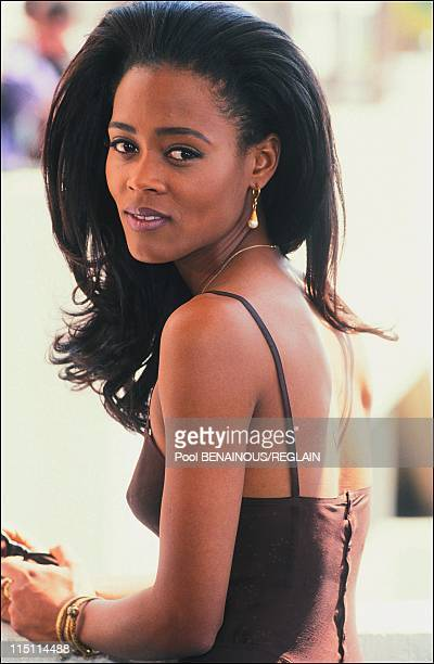 "Cannes Film Festival: of ""A Rage in Harlem"" by Bill Duke in Cannes, France on May 14, 1991 - Robin Givens."