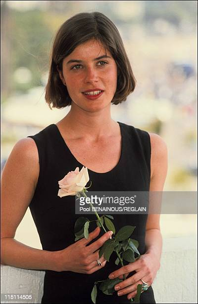 Cannes Film Festival photo call of 'La double vie de Veronique' by kKielowski in Cannes France on May 15 1991 Irene Jacob