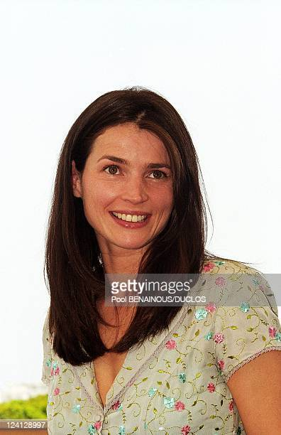 """Cannes Film Festival: Photo call of """"The Barber of Siberia"""", France On May 12, 1999 - Actress Julia Ormond."""