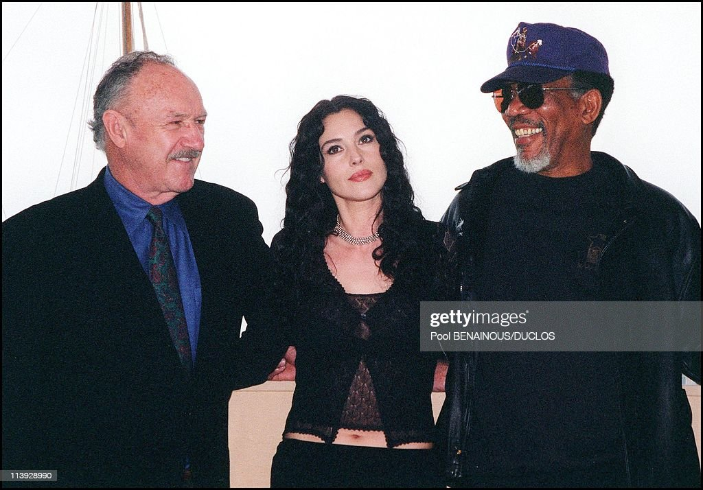 "Cannes Film Festival: Photo Call Of The Film ""Under Suspicion"" In Cannes, France On May 11, 2000- : News Photo"