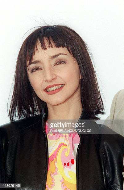 Cannes Film Festival Photocall Of Capitaines D'Avril In Cannes France On May 13 2000Maria de Medeiros
