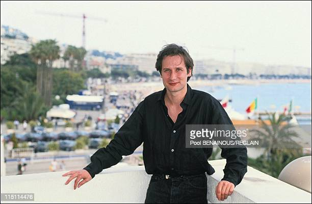 Cannes Film Festival presentation of the film 'Hors la Vie' by Maroun Bagdadi in Cannes France on May 13 1991 Hyppolite Girardot