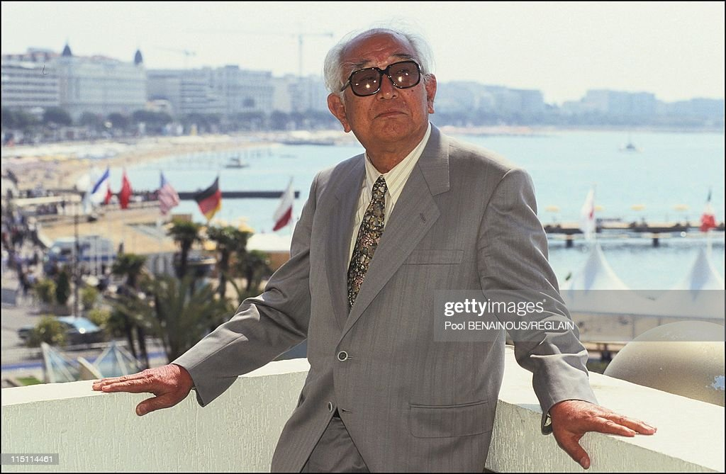 'Rhapsody in August' in Cannes, France on May 12, 1991 - Akira Kurosawa.