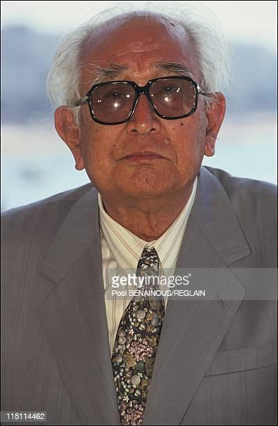 Cannes Film Festival 'Rhapsody in August' in Cannes France on May 12 1991 Akira Kurosawa