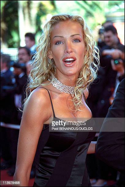 Cannes film festival stairs of Code Inconnu In Cannes France On May 19 2000Ophelie Winter