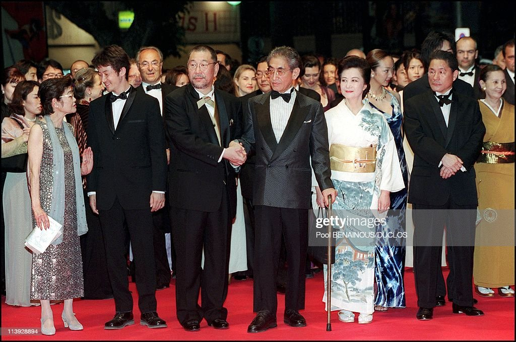"""Cannes Film Festival : Stairs Of """"Gohatto"""" In Cannes, France On May 17, 2000- : News Photo"""