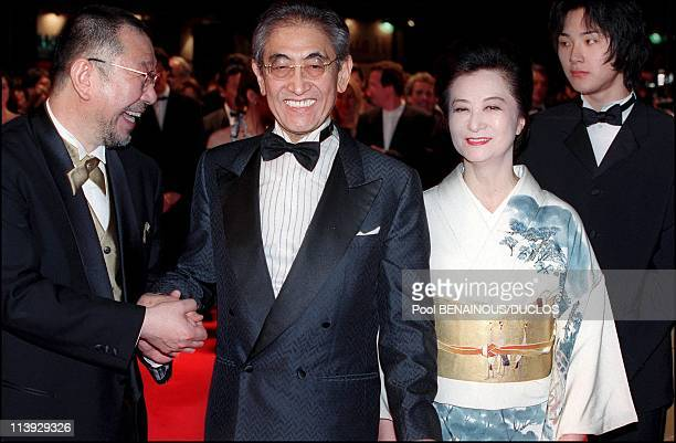 Cannes Film Festival Stairs Of Gohatto In Cannes France On May 17 2000Nagisa Oshima