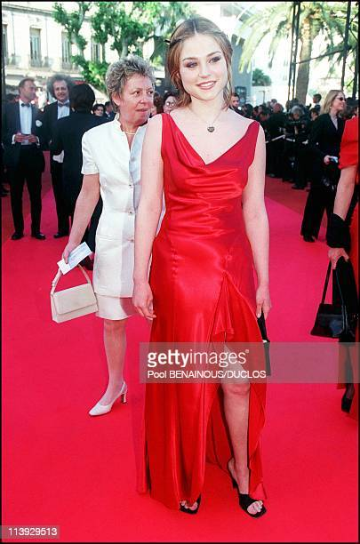 Cannes film festival stairs of In the mood for love In Cannes France On May 20 2000Emilie Dequenne