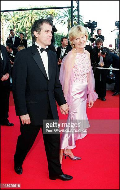 Cannes film festival stairs of In the mood for love In Cannes France On May 20 2000Claude Serillon Catherine Ceylac