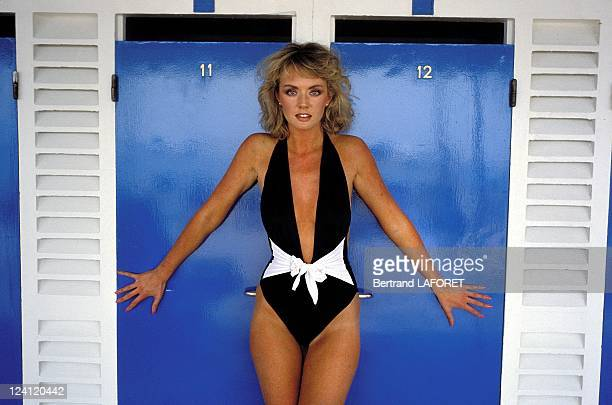 Cannes Film Festival the 'James Bond Girl' of film 'Octopussy' in Cannes France on May 09 1983
