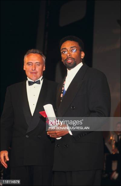 Cannes Film Festival: The winner in Cannes, France on May 20, 1991 - Spike Lee.