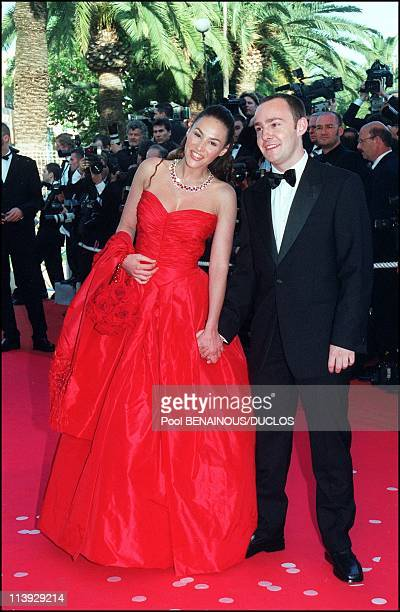 Cannes Film Festival Tribute To Luis Bunuel In Cannes France On May 14 2000Vanessa Demouy and Stephane Bombet