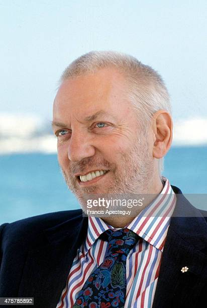 Cannes France Donald Sutherland actor