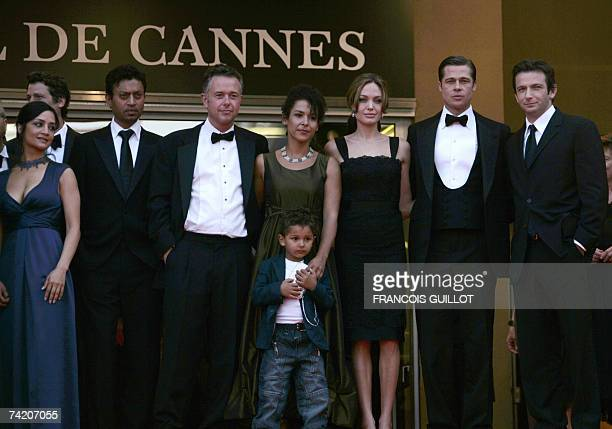 British actress Archie Panjabi Indian actor Irrfan Khan British director Michael Winterbottom French journalist and writer Mariane Pearl and her son...