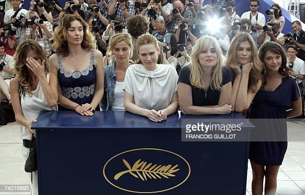 French actress Agathe de La Fontaine US actress Olatz Lopez Garmendia French actress Anne Consigny Canadian actress MarieJose Croze French actresses...