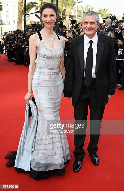 French director Claude Lelouch and his companion French-Italian actress Alessandra Martinez arrive to attend the opening ceremony of the 59th edition...
