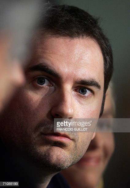 French director Xavier Giannoli attends a press conference for his film 'Quand j'etais chanteur' at the 59th edition of the International Cannes Film...