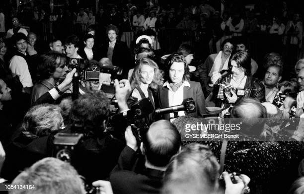 Cannes France mai 1979 Le 32ème Festival de Cannes se déroule du 10 au 24 mai Le compositeur de musique électronique français JeanMichel JARRE et son...