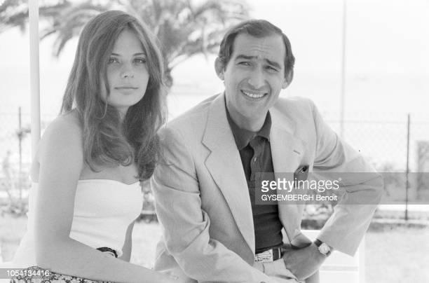 Cannes France mai 1979 Le 32ème Festival de Cannes se déroule du 10 au 24 mai Le réalisateur français Alain CORNEAU et l'actrice française Marie...