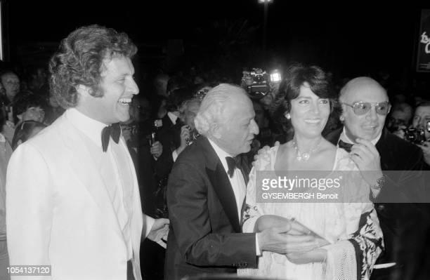 Cannes France mai 1979 Le 32ème Festival de Cannes se déroule du 10 au 24 mai Le chanteur compositeur et écrivain américanofrançais Joe DASSIN...