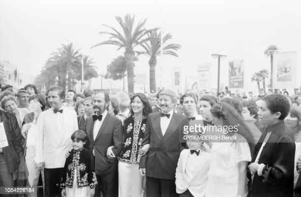 Cannes France mai 1982 La 35ème édition du Festival de Cannes s'est déroulée du 14 au 26 mai 1982 Mohammed LAKHDARHAMINA acteur réalisateur et...