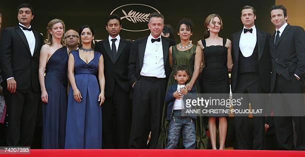 Pakistani actor Azfar Ali, US producer Dede Gardner, British actress Archie Panjabi, Indian actor Irrfan Khan, British director Michael Winterbottom,...