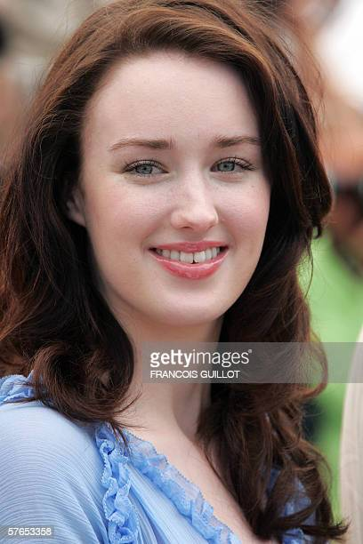 US actress Ashley Johnson poses during a photocall for US director Richard Linklater's film 'Fast Food Nation' at the 59th edition of the...