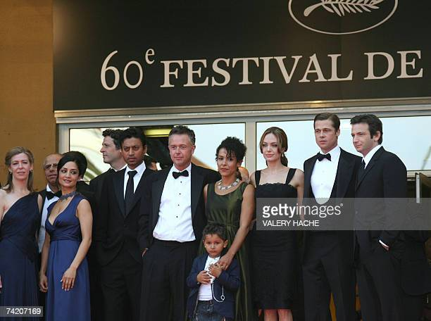 US producer Dede Gardner British actress Archie Panjabi Indian actor Irrfan Khan British director Michael Winterbottom French journalist and writer...