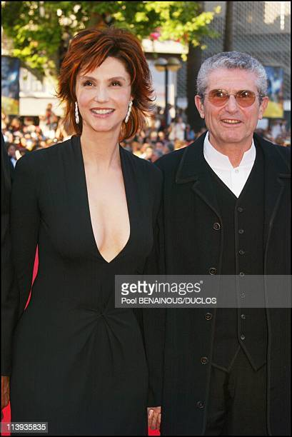 Cannes International Film Festival winner In Cannes France On May 26 2002Claude Lelouch and his wife Alessandra Martines
