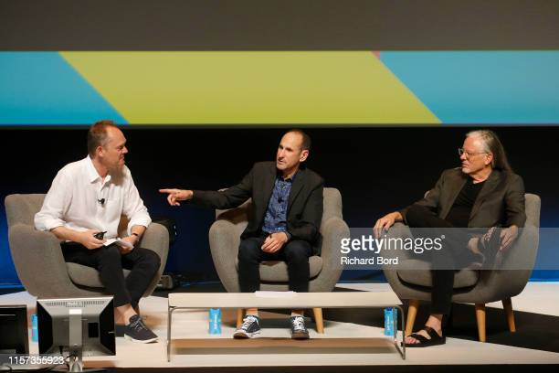 Cannes Lions Chairman Philip Thomas Cochairman and Partner Goodby Silverstein and Partners Rich Silverstein and Cochairman and Partner Goodby...