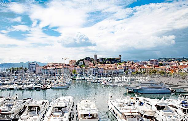 cannes port - cannes stock pictures, royalty-free photos & images