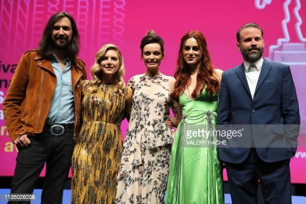 Canneseries jury members French musician Robin Coudert aka Rob Canadian actress Katheryn Winnick FrenchBritish actress Emma Mackey Italian actress...