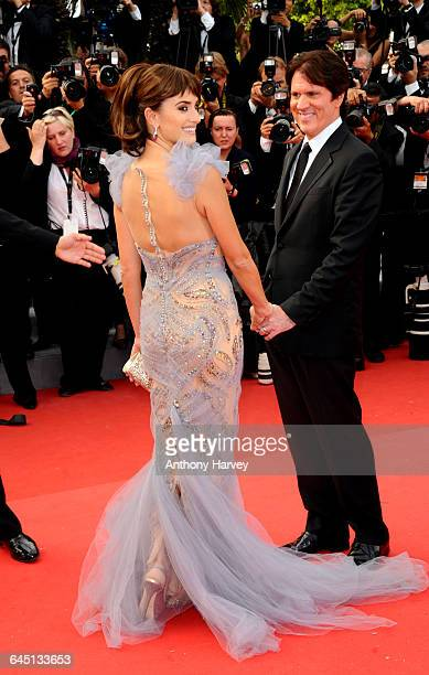 Actress Penelope Cruz and DIRECTOR Rob Marshall attend the 'Pirates of the Caribbean On Stranger Tides' premiere at the Palais des Festivals during...