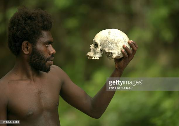 Cannibal in Vanuatu in 2007 A nivanuatu with a crane on Malekula Cannibal island Vanuatu Cannibal village in Malekula Vanuatu The last one was around...