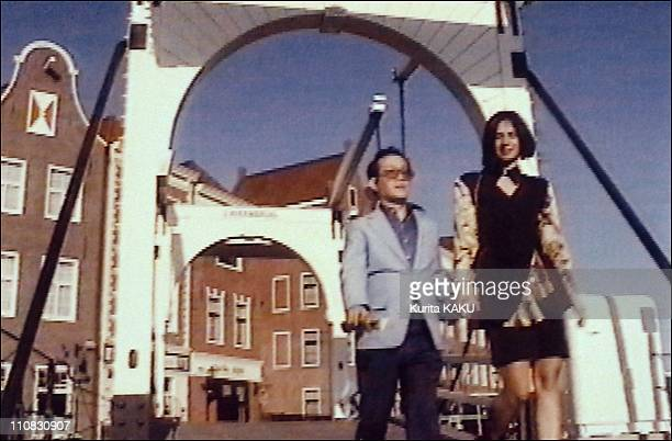 Cannibal ISagawa Presents A Video In Tokyo Japan In December 1994 Issei Sagawa and Anna Bosposs star of his video