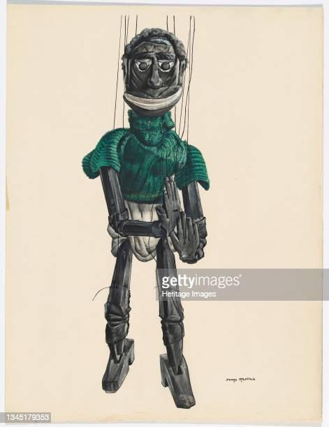 Cannibal Marionette, circa 1937. Artist James McLellan.