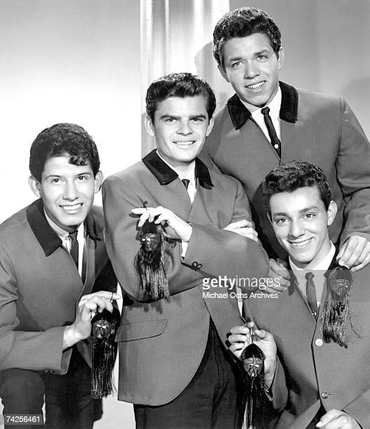 Cannibal the Headhunters pose for a portrait circa 1965 in Los Angeles California
