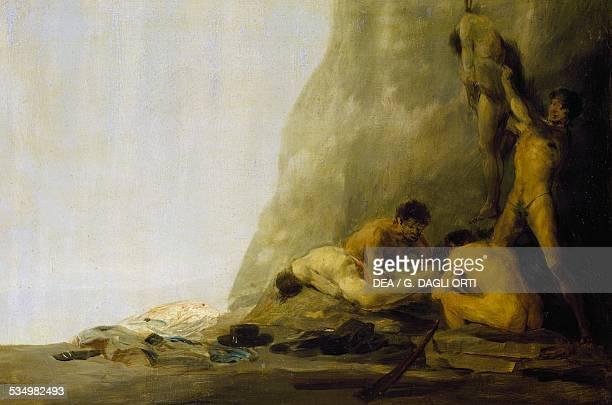 Cannibals preparing their victims by Francisco de Goya Spain 19th century Besançon Musée Des BeauxArt Et D'Archéologie