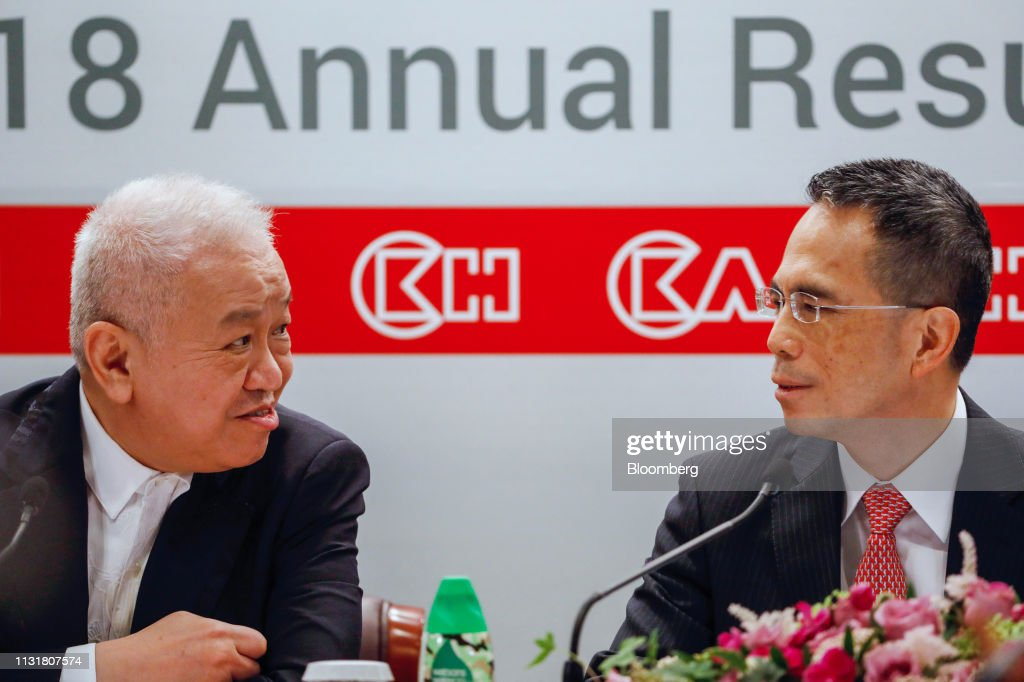 HKG: CK Hutchison Holdings Chairman Victor Li Attends Earnings News Conference