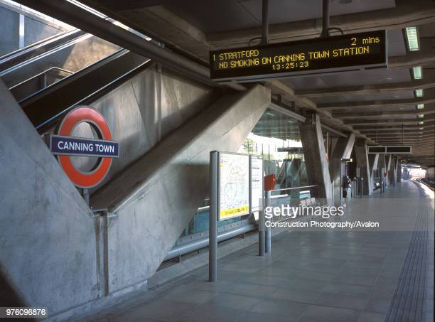 Canning Town London Underground Station London United Kingdom