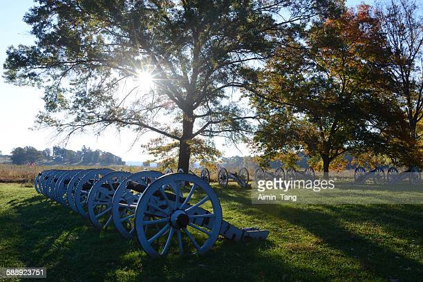 Cannon Arrangement at Valley Forge