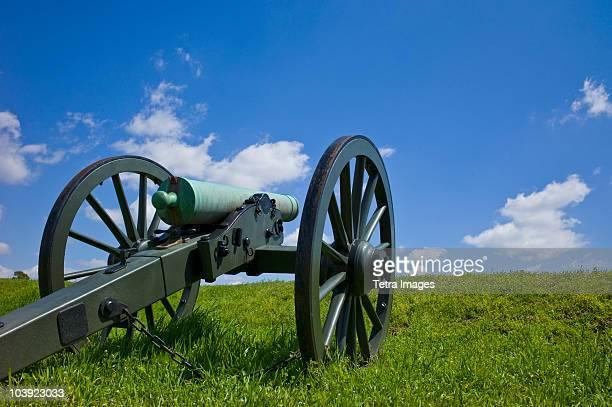 cannon at vicksburg national military park - vicksburg_national_military_park stock pictures, royalty-free photos & images