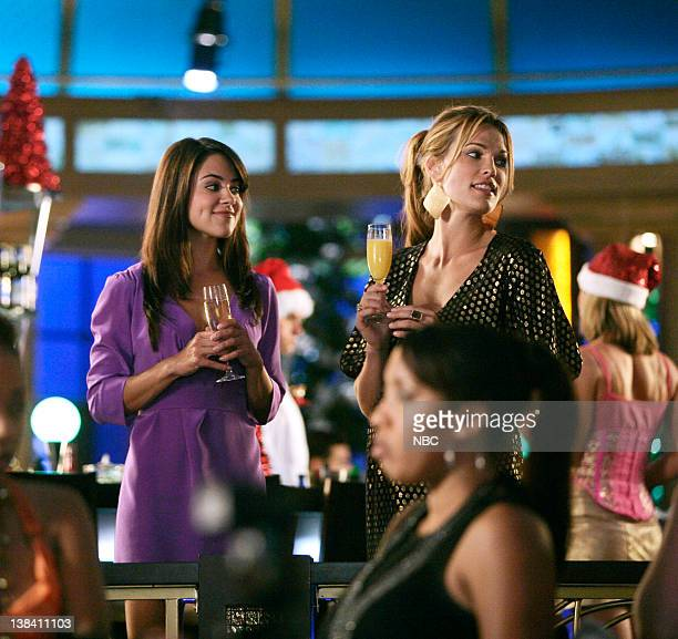 LAS VEGAS A Cannon Carol Episode 11 Pictured Camille Guaty as Piper Nielson Molly Sims as Delinda Deline